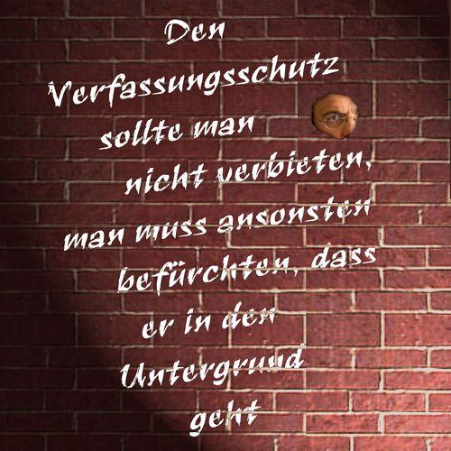 Cartoon: Verfassungschutz (medium) by heschmand tagged bundesregierung,verfassungsschutz,regierung,vmänner,politik