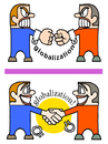 Cartoon: globalization (small) by gonopolsky tagged globalization,relationship