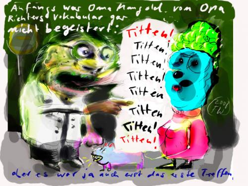 Cartoon: Titten (medium) by Faxenwerk tagged titten,faxenwerk,