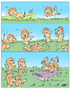 Cartoon: Lions (small) by alves tagged lions,safari,tourism