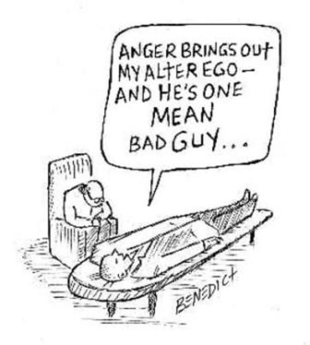 Alter Ego By efbee1000   Media & Culture Cartoon   TOONPOOL
