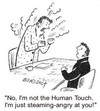 Cartoon: Fumming (small) by efbee1000 tagged fume,fumming,anger,angry,human,touch,steam,office