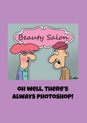 Beauty Salon Cartoon By The Nuttaz Love Cartoon Toonpool