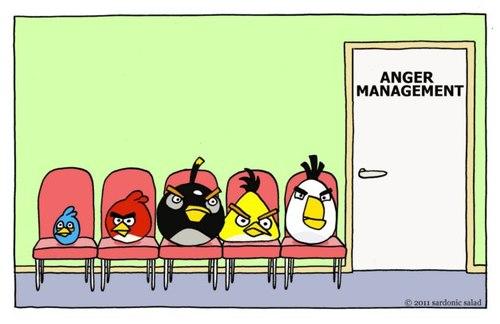 Anger Management By Sardonic Salad Media Culture Cartoon Toonpool