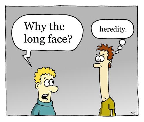 Genetics Cartoo... Genetics Jokes