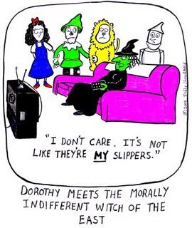 Cartoon: morally indifferent (medium) by sardonic salad tagged wizard,of,oz