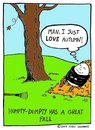 Cartoon: a great fall (small) by sardonic salad tagged egg,humpty,dumpty,fall,autumn,sardonicsalad