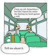 Cartoon: tool (small) by sardonic salad tagged hammer,bus,cartoon,comic,sardonic,salad