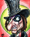 Cartoon: Alice Cooper (small) by Curbis_humor tagged rock cooper caricature