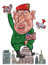 Cartoon: Hugo Chavez (small) by beto cartuns tagged chavez,venezuela,autoritarism