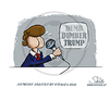 Cartoon: Dumb - Dumber - Trump (small) by stewie tagged trump