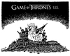 Cartoon: Game of Thrones U.S. (small) by stewie tagged world,police,force,america,game,thrones