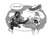 Cartoon: Use the Fork! (small) by stewie tagged star,wars,darth,vader,luke,skywalker