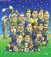 Cartoon: Italy winner of worldcup 2006 (small) by javad alizadeh tagged italy,worldcup2006