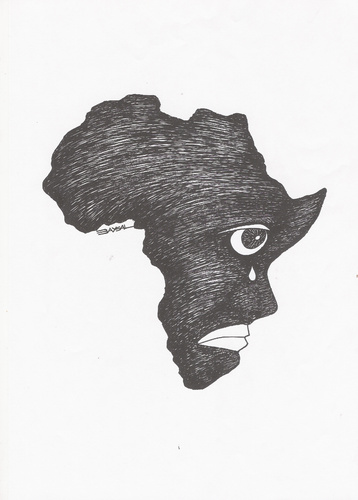 Africa By ercan baysal | Politics Cartoon | TOONPOOL