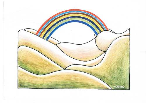 Cartoon: Rainbow (medium) by ercan baysal tagged amour,love,woman,ercanbaysal,erotic,sexuality,erotik,logo,design,mixed,create,form,pencil,picture,coloring,image,vision,daydream,fineart,fine,job,good,beauty,pretty,vagina,whore,frau,art,fun,nipple,nude,female,sweetheart,lover,darling,rainbow,graphic