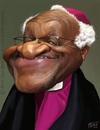 Cartoon: Desmond Tutu (small) by jmborot tagged desmondtutu,caricature,jmborot