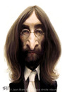 Cartoon: John Lennon (small) by jmborot tagged lennon,beatles,caricature,jmborot