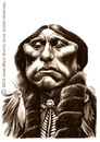 Cartoon: Quanah Parker (small) by jmborot tagged quanah,parker,indiens,caricatures,jmborot