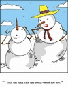 Cartoon: Mom knows best (small) by Tim Akin Ink tagged snow,face,parents,mother