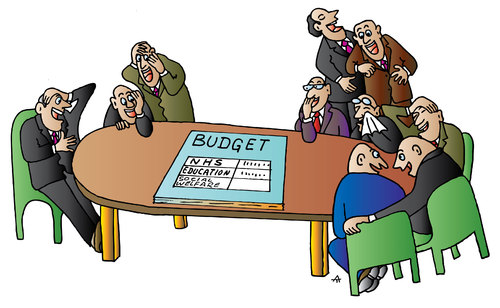 Image result for budget cartoons