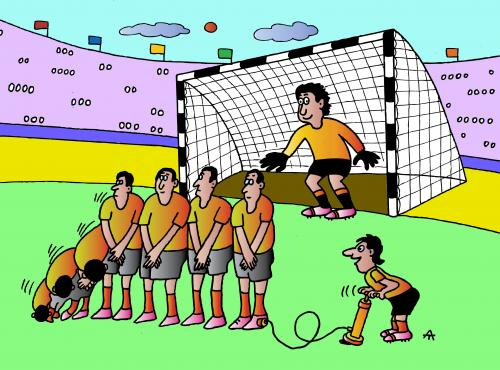 funny cartoon football pictures Photo