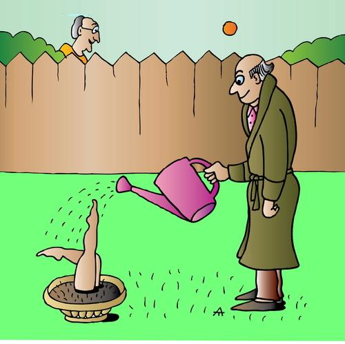 Cartoon Pics of Gardening Cartoon Gardening Medium by