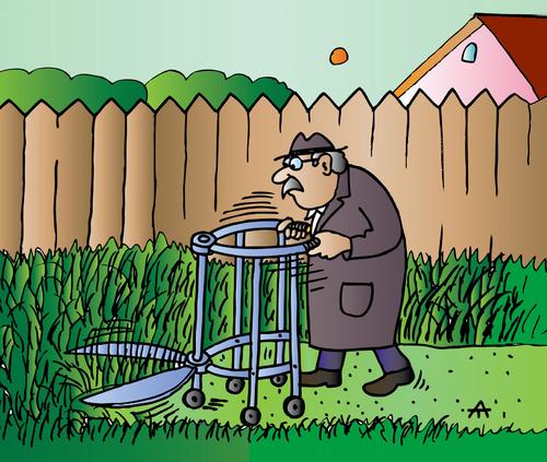 Gardening By Alexei Talimonov Media Amp Culture Cartoon