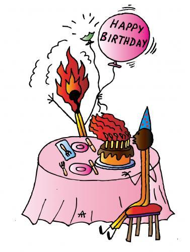 happy birthday cartoon. Cartoon: Happy Birthday