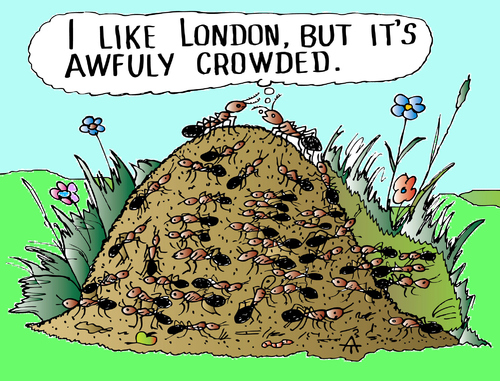 Cartoon: London (medium) by Alexei Talimonov tagged london