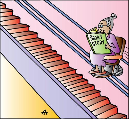 stairs short story grandma