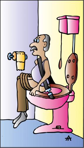 Toilet By Alexei Talimonov Education Amp Tech Cartoon