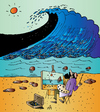 Cartoon: Artist and Sea (small) by Alexei Talimonov tagged artist,sea