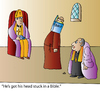 Cartoon: Bible (small) by Alexei Talimonov tagged bible