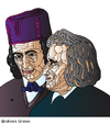 Cartoon: Brothers Grimm (small) by Alexei Talimonov tagged grimm,brothers