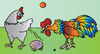 Cartoon: Chicken (small) by Alexei Talimonov tagged chicken