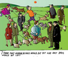 Cartoon: Dogs and People (small) by Alexei Talimonov tagged dogs,pets,people