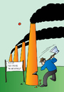 Cartoon: Ecology (small) by Alexei Talimonov tagged ecology,global,warming,climate,change