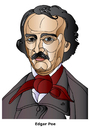 Cartoon: Edgar Allen Poe (small) by Alexei Talimonov tagged edgar,allen,poe