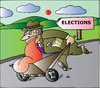 Cartoon: Elections (small) by Alexei Talimonov tagged elections