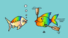 Cartoon: Fishes (small) by Alexei Talimonov tagged fishes
