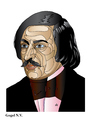 Cartoon: Gogol (small) by Alexei Talimonov tagged gogol