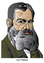 Cartoon: Leo Tolstoy (small) by Alexei Talimonov tagged tolstoy