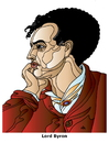Cartoon: Lord Byron (small) by Alexei Talimonov tagged byron