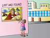 Cartoon: Lost And Found (small) by Alexei Talimonov tagged lost,found