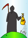 Cartoon: Monsanto (small) by Alexei Talimonov tagged monsanto
