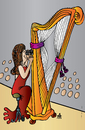 Cartoon: music (small) by Alexei Talimonov tagged culture,music
