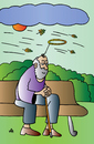 Cartoon: Old Man (small) by Alexei Talimonov tagged old,man