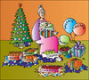 Cartoon: Organic Xmas Gifts (small) by Alexei Talimonov tagged xmas,christmas,organic,gifts