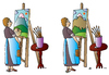 Cartoon: Picture (small) by Alexei Talimonov tagged picture painting